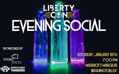 Announcing Young Voices' Evening Social at LibertyCon