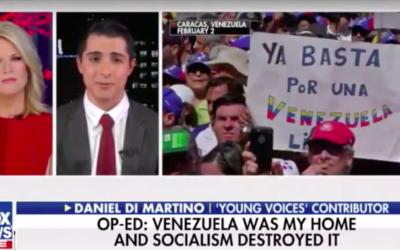 Daniel DiMartino Discusses Venezuela on Fox News