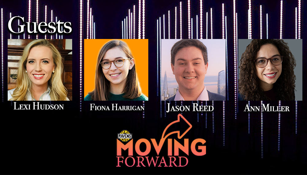 "LISTEN: ""Moving Forward"" with guests: Alexandra Hudson, Jason Reed, Ann Miller & Fiona Harrigan"