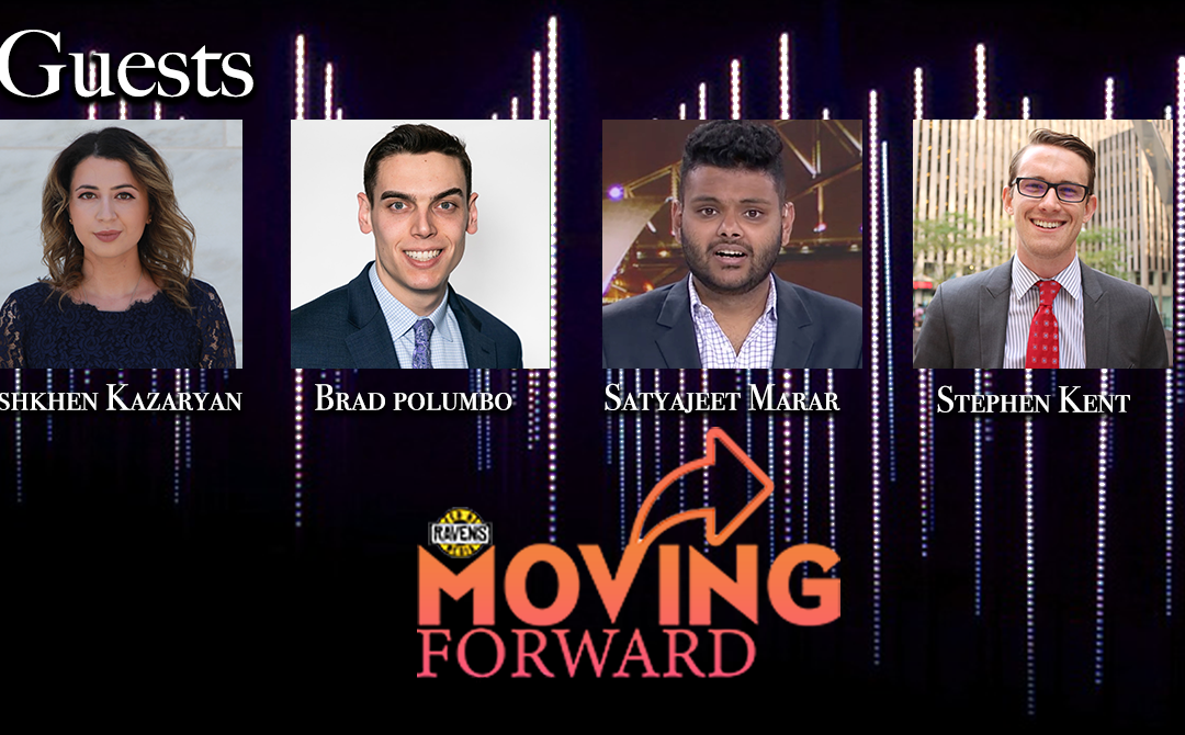"LISTEN: ""Moving Forward"" debuts on Fed By Ravens with guests: Brad Polumbo, Satya Marar & Ash Kazaryan"
