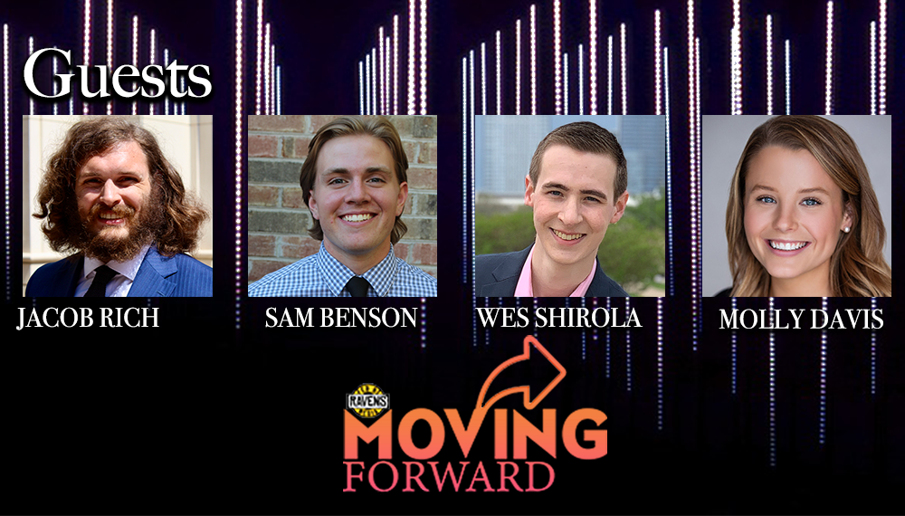 "LISTEN: ""Moving Forward"" with guests: Wes Shirola, Molly Davis, Jacob Rich and Sam Benson"