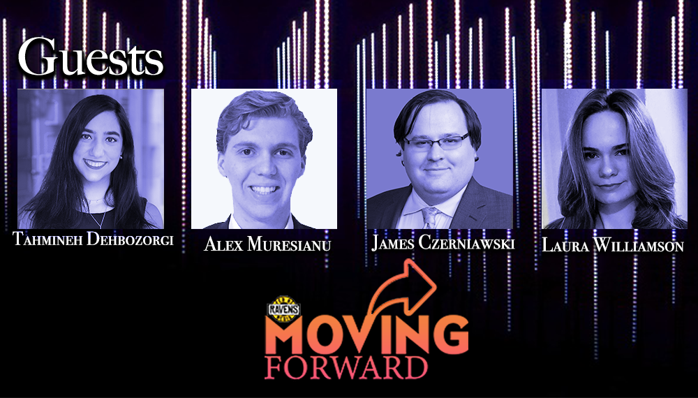 "LISTEN: ""Moving Forward"" with guests: Tahmineh Dehbozorgi, James Czerniawski, Alex Muresianu and Laura Williamson"