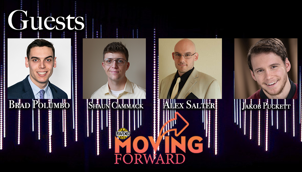 "LISTEN: ""Moving Forward"" with guests: Brad Polumbo, Jakob Puckett, Alex Salter and Shaun Cammack"