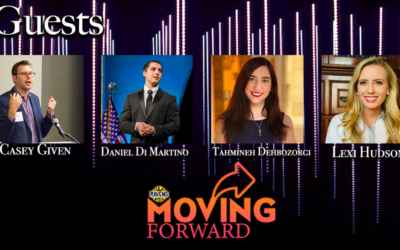 "LISTEN: ""Moving Forward"" on Millennials, Gen-Z and Opportunity ft guests: Daniel Di Martino, Casey Given, Alexandra Hudson and Tahmineh Dehbozorgi"