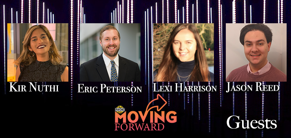 "LISTEN: ""Moving Forward"" ft. Kir Nuthi, Eric Peterson, Alexandra Harrison, and Jason Reed"